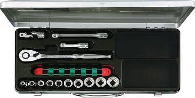【あす楽】KTC(京都機械) 12.7sq.ソケットレンチセット[14点]TB410X  TB410X