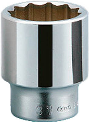 KTC(京都機械) 19.0sq.ソケット(十二角) 80mmB40-80  B4080