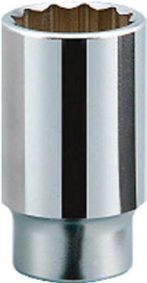 【あす楽】KTC(京都機械) 19.0sq.ディープソケット(十二角) 58mmB45-58  B4558