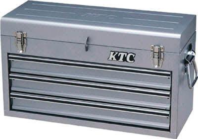 KTC(京都機械) チェスト(3段3引出し)メタリックシルバーSKX0213S  SKX0213S