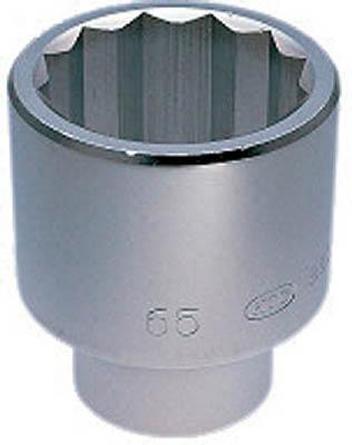【あす楽】KTC(京都機械) 25.4sq.ソケット(十二角)50mm〔B50-50〕B5050