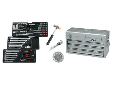 KTC(京都機械) 9.5sq.工具セット(チェストケース)SK3650XS  SK3650XS