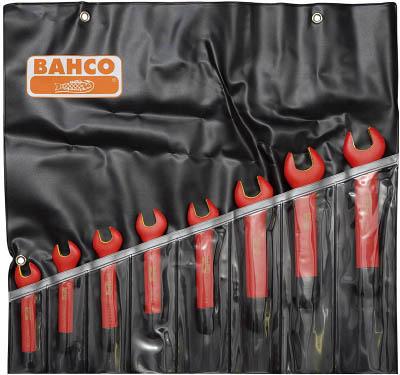 バーコ(BAHCO)【6MV/8T】1000V絶縁片口スパナセット