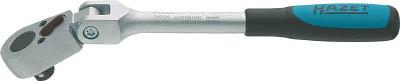 HAZET(ハゼット)【8816GK】ラチェットハンドル(小判型ヘッド・首振りタイプ) 差込角9.5mm