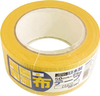 オカモト 布テープカラーOD-001 黄【1巻】