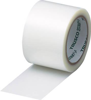 TRUSCO(トラスコ中山) クロス粘着テープ 幅75mmX長さ25m クリア 透明