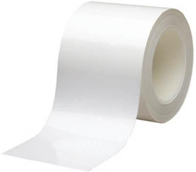 ミドリ安全 ベルデビバハードテープ 白 100mmX20m