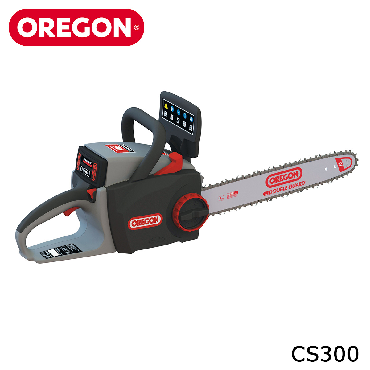 OREGON CS300 CTS 電動チェンソー バッテリー式 コードレス 自動目立て機能 低騒音 16インチ 40cm チェーンソー オレゴン【本体のみ】