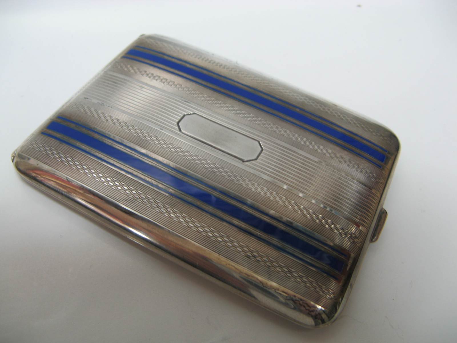 6774c7d62b49 Yutakaya  ELGIN sterling silver cigarette case unread items ...