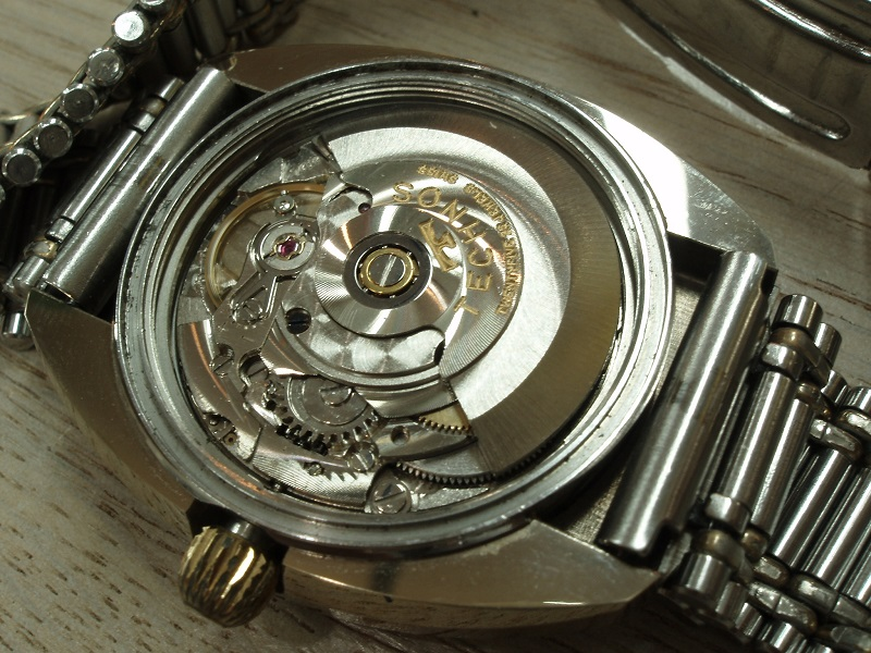 TECHNOS Borazon self-winding