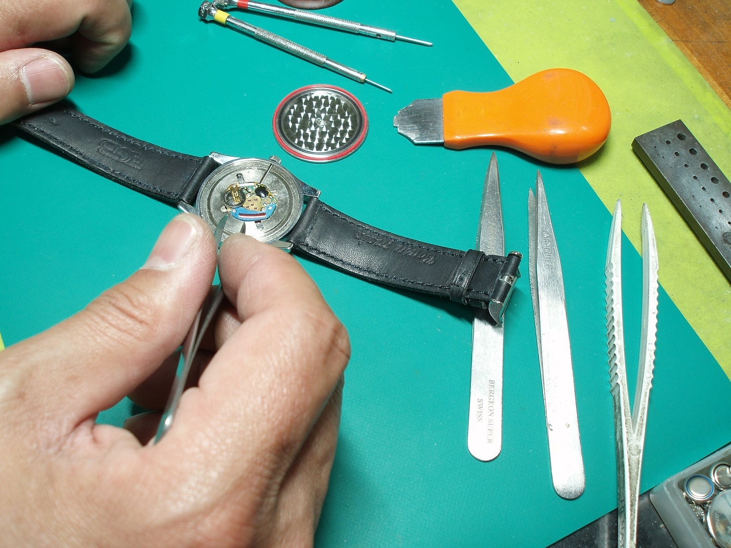 Analog watch battery replacement (we please at least 3 requests)