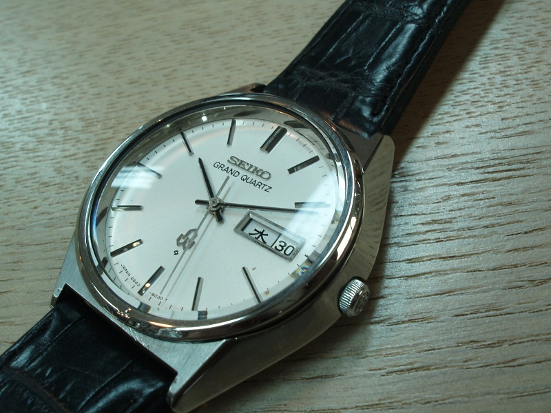 GRAND SEIKO QUARTZ quartz Cal, 4843