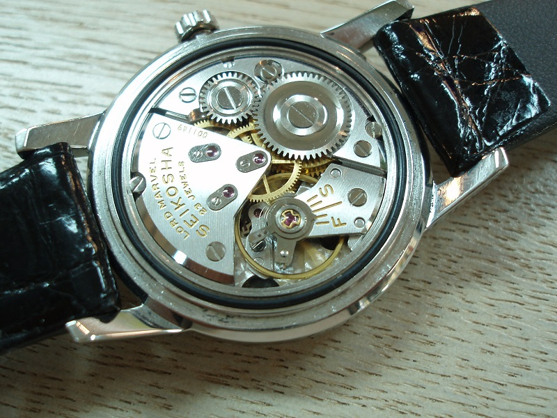 SEIKO Lord Marvel    Rolling by hand
