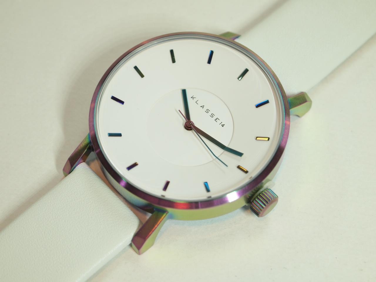 KLASSE14【クラス14】MARIO NOBILE Volare レインボー 42ミリ 人気の腕時計 クォーツウォッチ