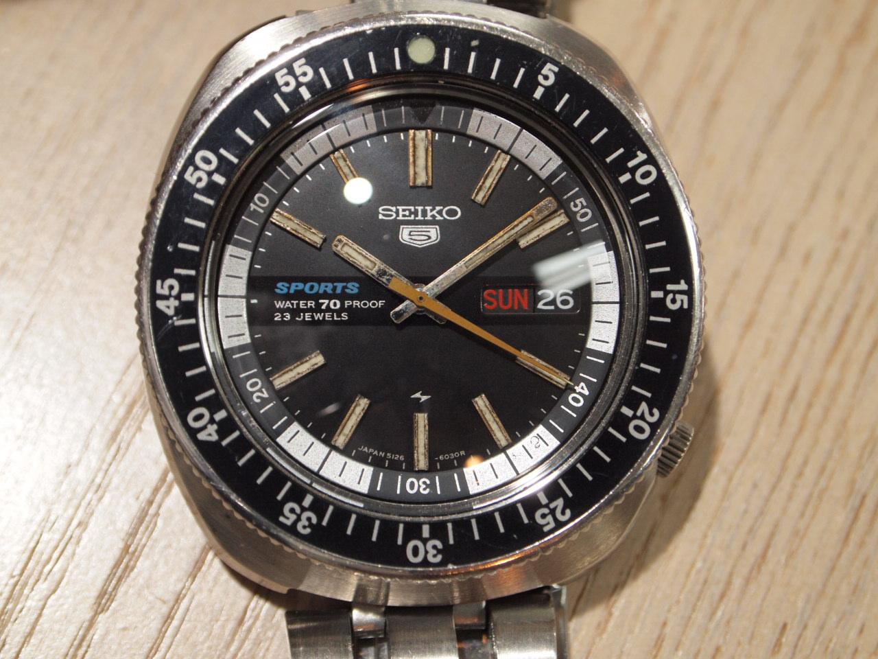 3d68faee7 Yutakaya: SEIKO SEIKO5Sports 5216-6030 Self-winding watch | Rakuten ...