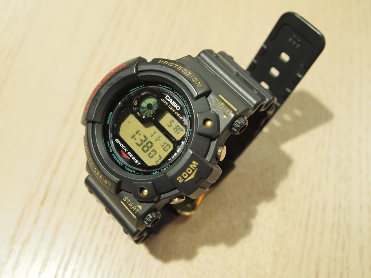 G-SHOCK DW-6300-1C(G-ショック 初代フロッグマン限定)【中古品】