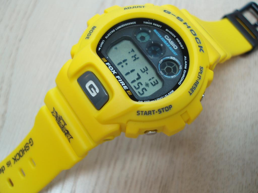 G-休克 DW-6900 H-9 (yellowslusher)