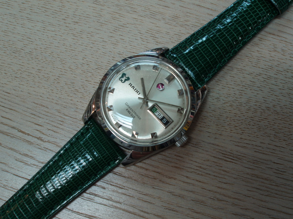 RADO Green Horse KING SIZE self-winding watch