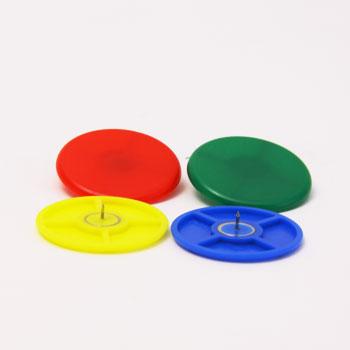 世界で初めてプラスチッククリップを作ったドイツのメーカー Laurel 無料サンプルOK ローレル カラー画鋲 40mm 4個 事務用品 情熱セール 2743-95 ass 文房具 輸入ステーショナリー オフィス用品