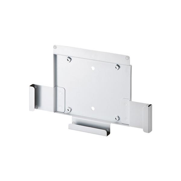 【送料無料】サンワサプライ iPad用モニターアーム・壁面取付けブラケット CR-LAIPAD10W iPadはブラケットに差込むだけの簡単設置です。