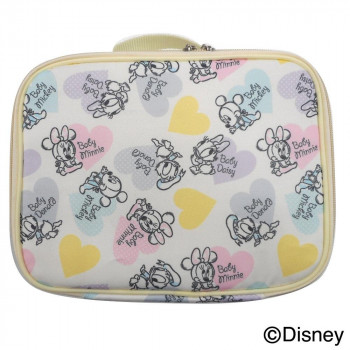 送料無料 中身が分かりやすいメッシュポケット付き Disney ディズニー セール品 消臭タグ付 おむつポーチ ブランド買うならブランドオフ DOP-2501K フレンズ ベビーミッキー