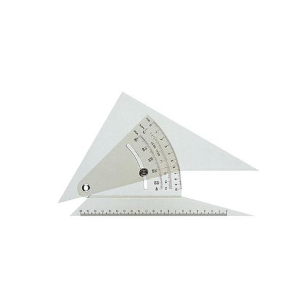 特価品コーナー☆ 各種の設計製図に使われる精密な勾配定規 クーポンあり 精密勾配定規 013-0003 22cm型 流行のアイテム