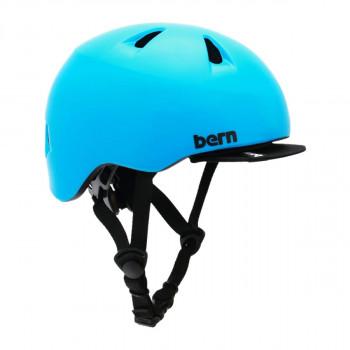 【クーポンあり】【送料無料】bern バーン ヘルメット ベビー TIGRE SATIN CYAN BLUE XXS BE-BB00Z18SCY-10