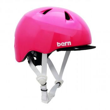 【クーポンあり】【送料無料】bern バーン ヘルメット ベビー TIGRE GLOSS PINK XXS BE-BB00Z18SPK-10