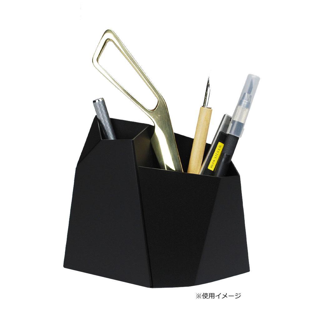 【クーポンあり】【送料無料】Oyster ペンスタンド Lサイズ ブラック シンプルだけどインパクトのあるフォルム★