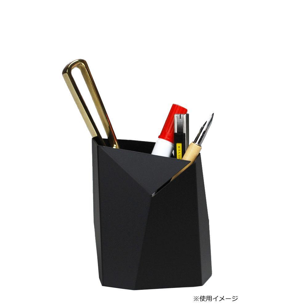 【クーポンあり】【送料無料】Oyster ペンスタンド Mサイズ ブラック シンプルだけどインパクトのあるフォルム★