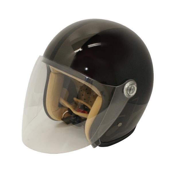 【クーポンあり】【送料無料】ダムトラックス(DAMMTRAX) JET-S DAMM&RAX dammflapper ヘルメット BLACK/GUNMETAL スポーティなデザインのヘルメット。