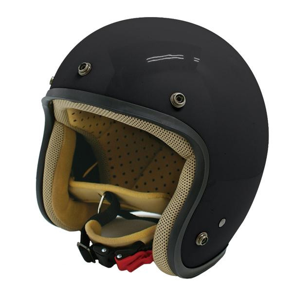 【最大ポイント20倍】【送料無料】ダムトラックス(DAMMTRAX) JET-D ヘルメット PEARL BLACK LADYS