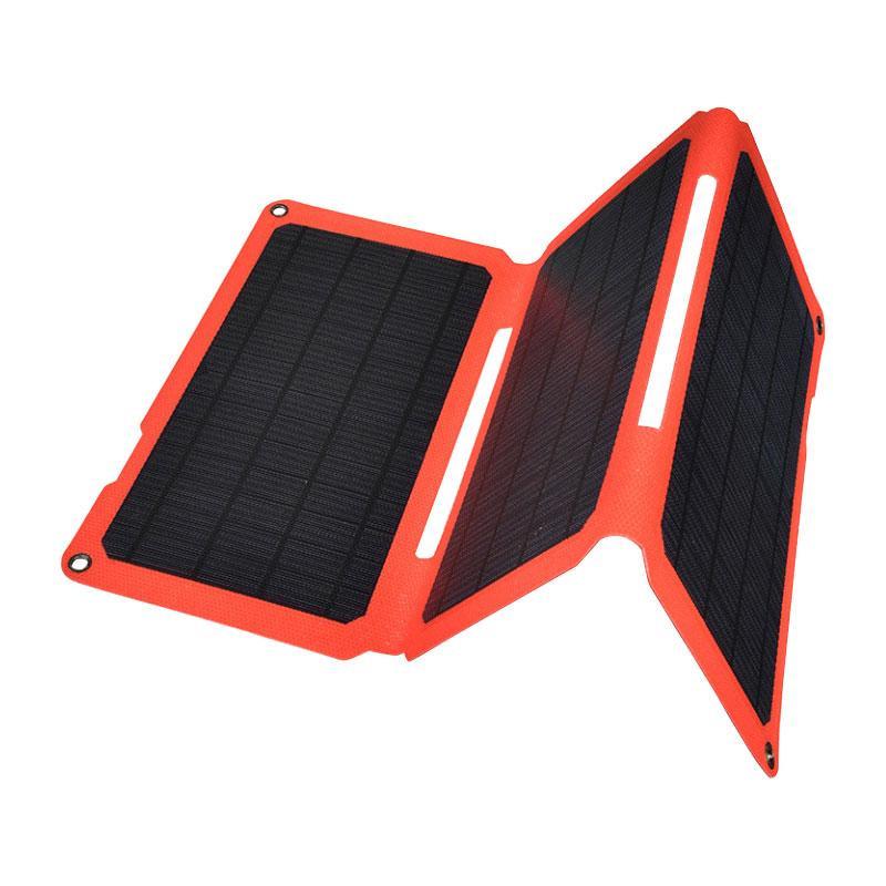 【クーポンあり】【送料無料】OHM 充電用ソーラーパネル 24W BT-JS24