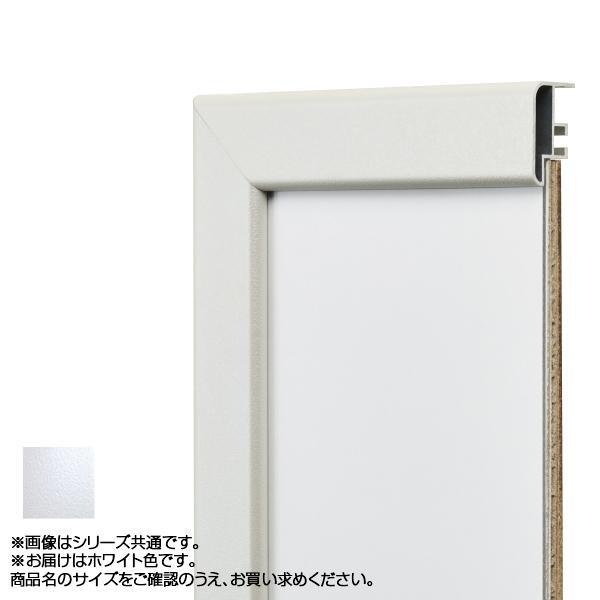 【クーポンあり】【送料無料】アルナ アルミフレーム デッサン額 CF ホワイト 正方形500角 15318