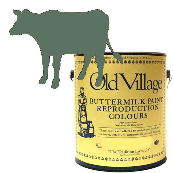 【クーポンあり】【送料無料】Old Village バターミルクペイント ワイルド ベイベリー 3785mL 605-13141 BM-1314G ペンキ 家具 仕上げ 屋外 マット 塗装 DIY ペイント