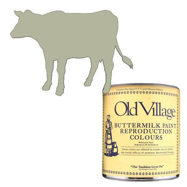 【クーポンあり】Old Village バターミルクペイント ピクチャー フレーム クリーム 946mL 605-07132 BM-0713Q 美しいマットな仕上がりのペンキです。