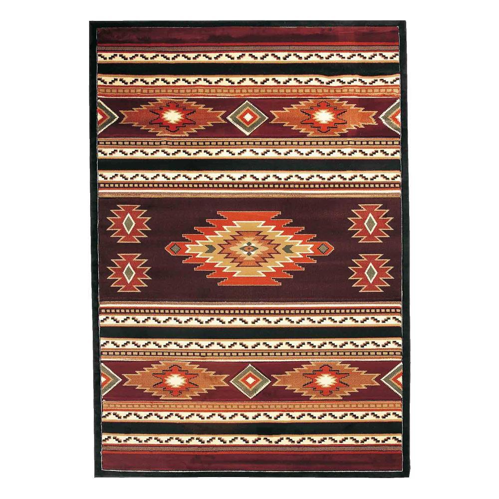 【送料無料】ユナイテッド・ウィーバーズ・オブ・アメリカ ソアリングダイアモンド ラグ ルームサイズ 230×160cm UW25929R マット 敷物 おしゃれ インテリア リビング ダイニング カービング 絨毯 家具