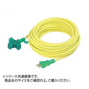 【送料無料】LT2-20 ランプ付トリプル延長コード クロスタイプ 07645