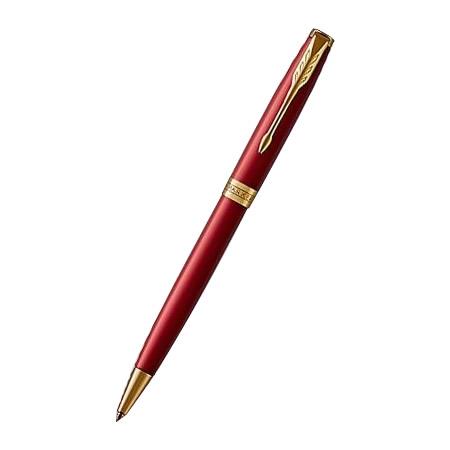 【クーポンあり】【送料無料】PARKER パーカー ソネット The New Collection ボールペン レッドGT M(中字) どんなシーンもエレガントに彩る人気のソネットがさらに進化!!