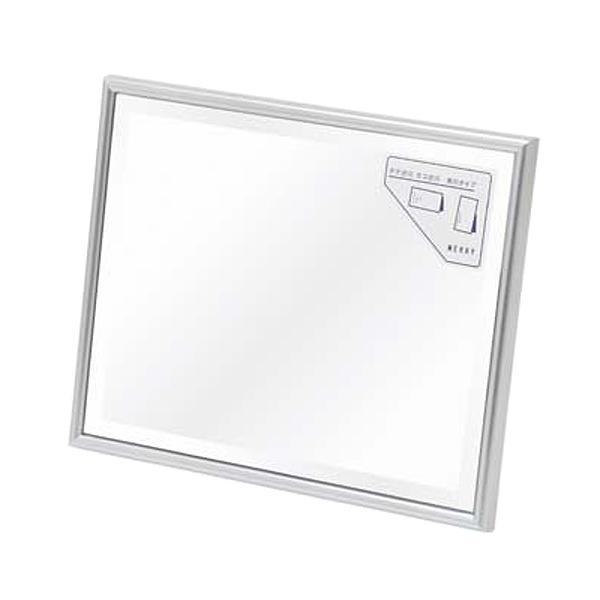 【クーポンあり】メリー 縦横兼用 卓上ミラー シルバー Z-3 インテリア感覚で使用できます。