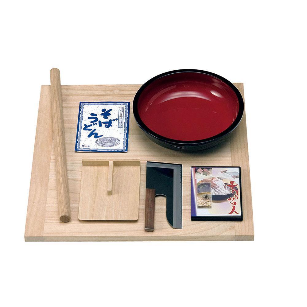 【クーポンあり】【送料無料】ヤマコー TS-130 麺打ちセット 85515 本格的な麺打ち道具を手軽なサイズでまとめました。