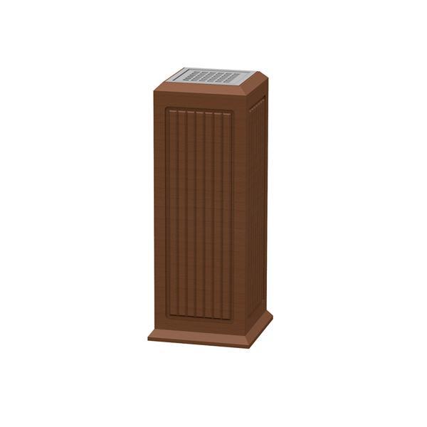 【クーポンあり】【送料無料】ぶんぶく ウッドシリーズ スモーキングスタンド SS-W-RIB 天然木突板仕上のスモーキングスタンド。