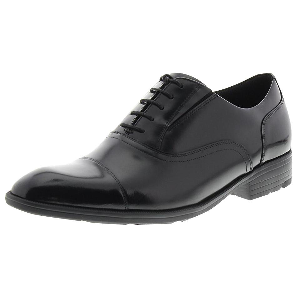 【クーポンあり】【送料無料】アシックス商事 ビジネスシューズ texcy luxe テクシーリュクス 2E相当 ストレートチップ TU-7002 ブラック メンズ 靴 革靴 歩きやすい 男性用 疲れない レザーシューズ 歩きやすい 履きやすい