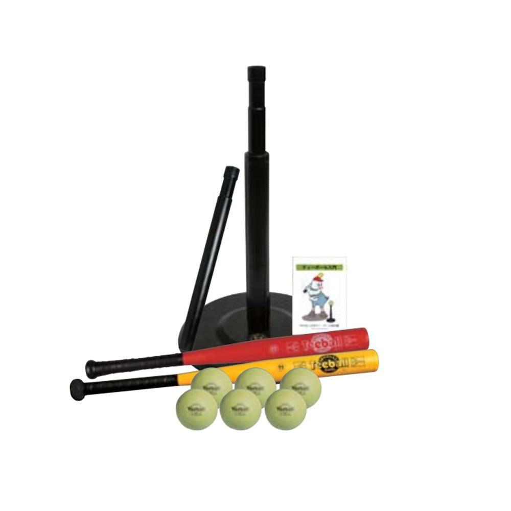 【クーポンあり】【送料無料】ナガセケンコー ケンコーティーボール11インチバリューセットBK KTS11V-BK ティーボール11インチのセット。