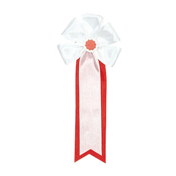 【クーポンあり】【送料無料】ササガワ タカ印 38-252 記章 大五方 白白 50個 セレモニー用品。