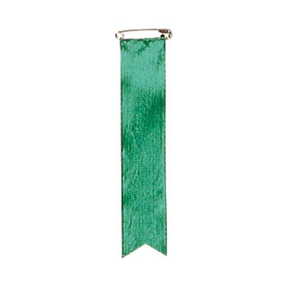 【クーポンあり】【送料無料】ササガワ タカ印 38-273 記章 四寸タレ 緑 500個 セレモニー用品。