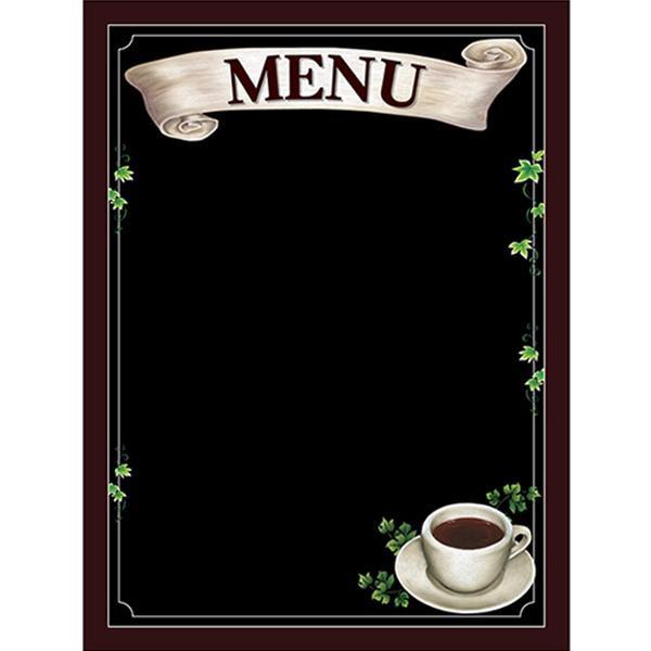 【クーポンあり】【送料無料】Pボード マジカルボード 69740 MENU メニュー コーヒー Lサイズ 何度も消し書きができるボード♪