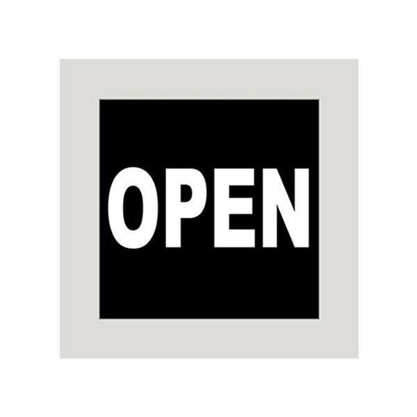 【クーポンあり】【送料無料】Pボード アンティークマジカルボード 23963 OPEN(黒) 何度も消し書きができるボード♪