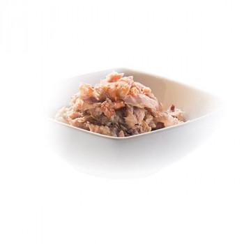 【送料無料】無添加・無着色 成猫用キャットフード シシア ツナ&エビ 50g×6個パック×8パック 栄養豊富 タンパク質 ウェットフード 健康 ビタミン 素材