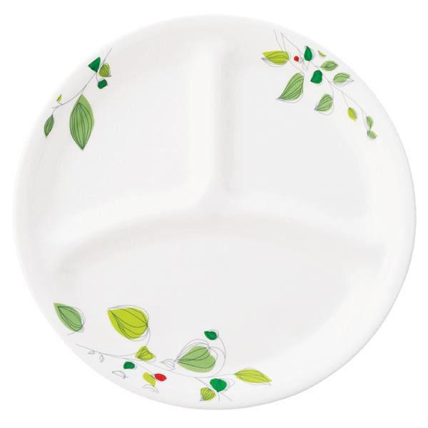 【クーポンあり】【送料無料】CP-9282 コレール グリーンブリーズ ランチ皿(小) J385-GB 5枚セット 和食にも合うさわやかな柄のシリーズ。